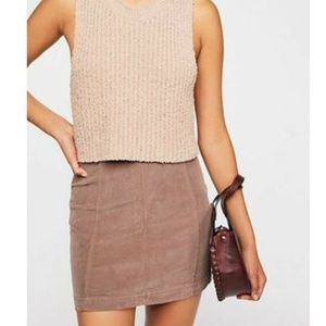 Free People Corduroy Mini